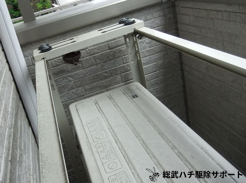 蜂の巣 室外 機